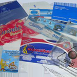 Envelopes plásticos revistas