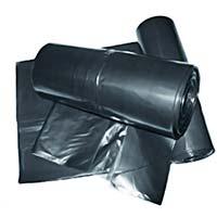 Rolo de plástico preto