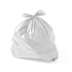 Sacos plásticos leitosos