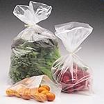 Sacos plásticos transparentes