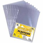Sacos plásticos transparentes 4 furos