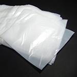 Sacos plásticos sanfonados